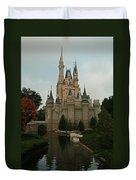 Cinderella's Castle Reflected Duvet Cover