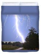 Cindy's Tower Lightning Duvet Cover