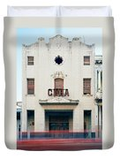 Cinema Cuba Duvet Cover