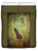 Cinnabar Moth Art Texture Wall Decor. Duvet Cover