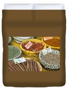 Cinnamon And Spice Duvet Cover