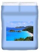 Cinnamon Bay St. John Virgin Islands Duvet Cover