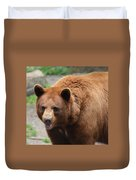 Cinnamon Black Bear Duvet Cover