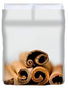 Cinnamons And Clove Duvet Cover