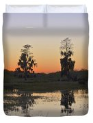 Circle B Sunset Duvet Cover