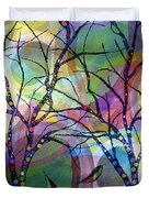 Circle Trees Duvet Cover