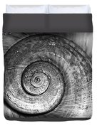 Circles Bw Duvet Cover