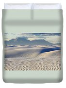 Circles In The Sand Duvet Cover