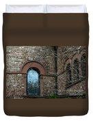 Circular Church Window Duvet Cover