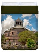 Circular Congregational Church  Duvet Cover