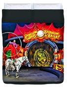 Circus Act Duvet Cover