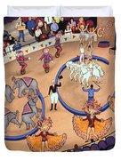 Circus Ladies Duvet Cover