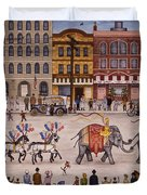 Circus Parade Duvet Cover