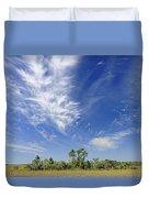 Cirrus Clouds  Duvet Cover