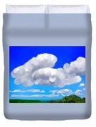 Cumulus Impressionism Duvet Cover