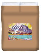 Cirrus Mountain Duvet Cover