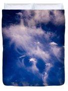 Cirrus Uncinus Clouds 11 Duvet Cover