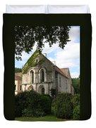 Cistercian Abbey Of Fontenay Duvet Cover