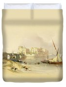 Citadel Of Sidon Duvet Cover
