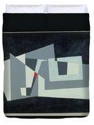 Citadel, Version 3, 1982 Oil On Hardboard Duvet Cover