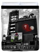 Citizens Bank Park Philadelphia Duvet Cover by Bill Cannon