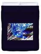 Citric Acid Microcrystals Abstract Color Art Duvet Cover