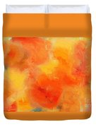 Citrus Passion - Abstract - Digital Painting Duvet Cover