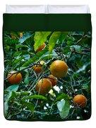 Citrus Sinensis Duvet Cover