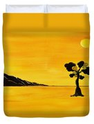 Citrus Sunset Duvet Cover
