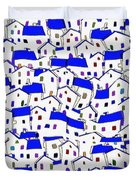 City 744 - Marucii Duvet Cover