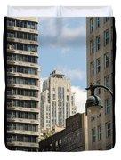 City Apartment Living Duvet Cover