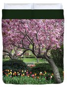 City Blossoms Duvet Cover