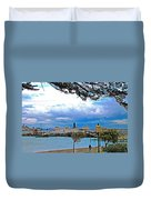 City By The Bay In San Francisco-california  Duvet Cover