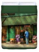 City - Canandaigua Ny - Buyers Delight Duvet Cover