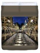 City Creek Fountain - 2 Duvet Cover