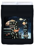 City Fish Edit 2 Duvet Cover