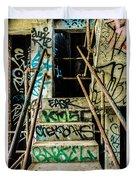 City Grunge Duvet Cover