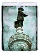 City Hall Billy Duvet Cover