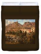 City Hall - Capetown 1917 Duvet Cover
