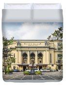 City Hall In Manila Philippines Duvet Cover