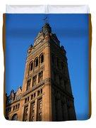 City Hall - Milwaukee Duvet Cover