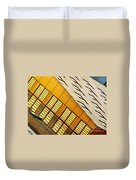 City Lines Duvet Cover