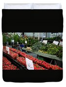 City Market - Manhattan Duvet Cover