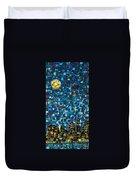 City Mosaic Duvet Cover