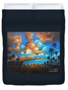 City Of Angels Duvet Cover