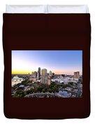 City Of Austin Texas Duvet Cover