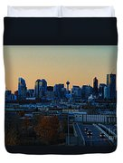 City Of Calgary Duvet Cover