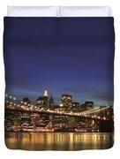 City Of Lights Duvet Cover