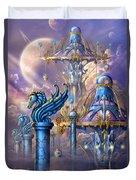 City Of Swords Duvet Cover