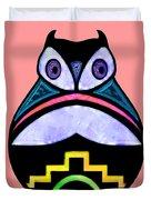 City Owl Duvet Cover